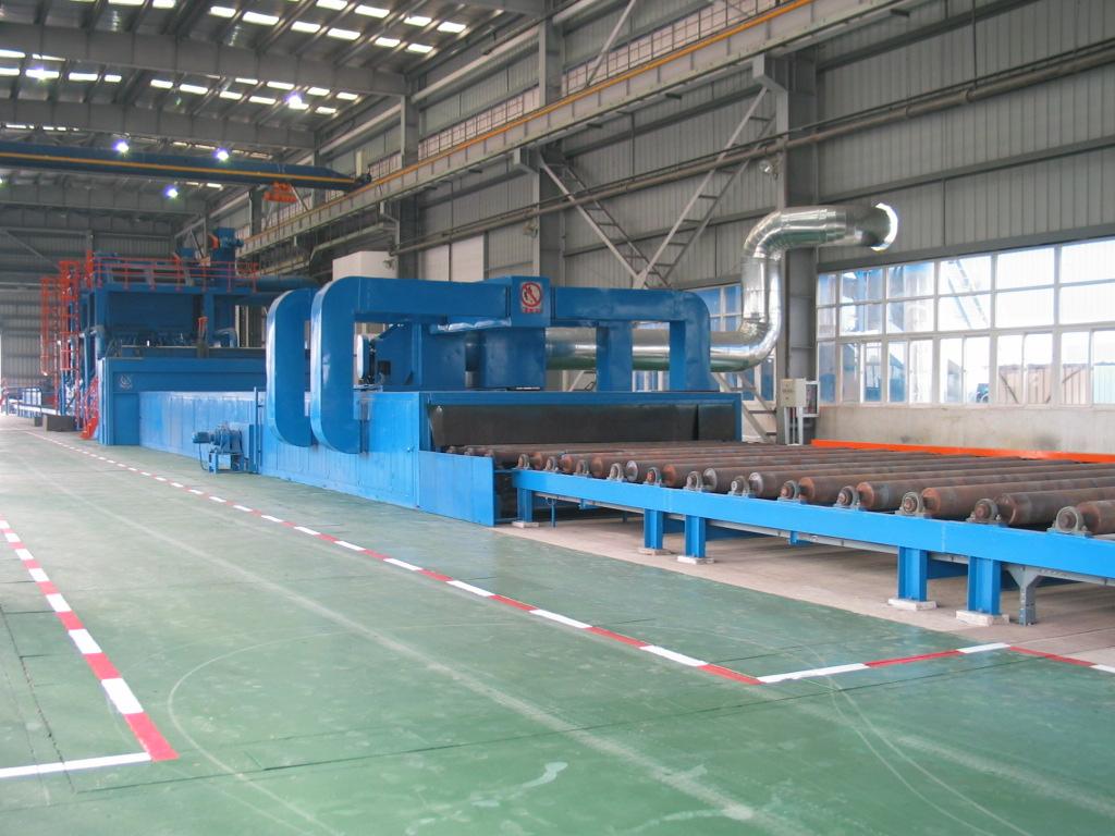 上海钢板预处理线