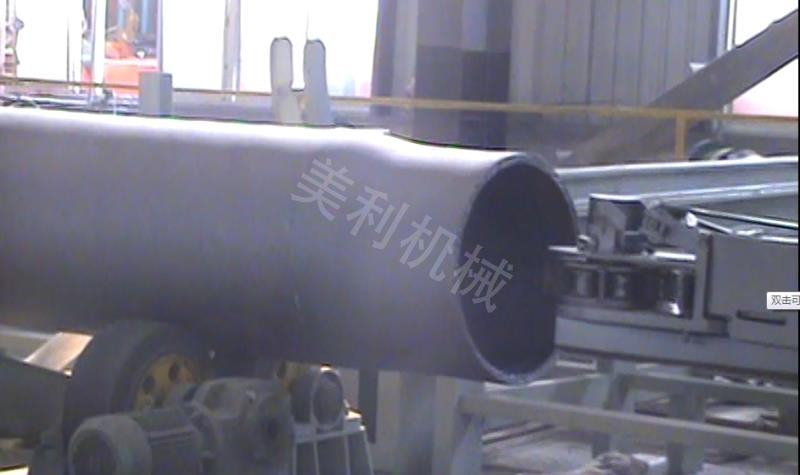 钢管内壁喷丸机