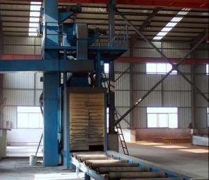 钢结构件抛丸清理机